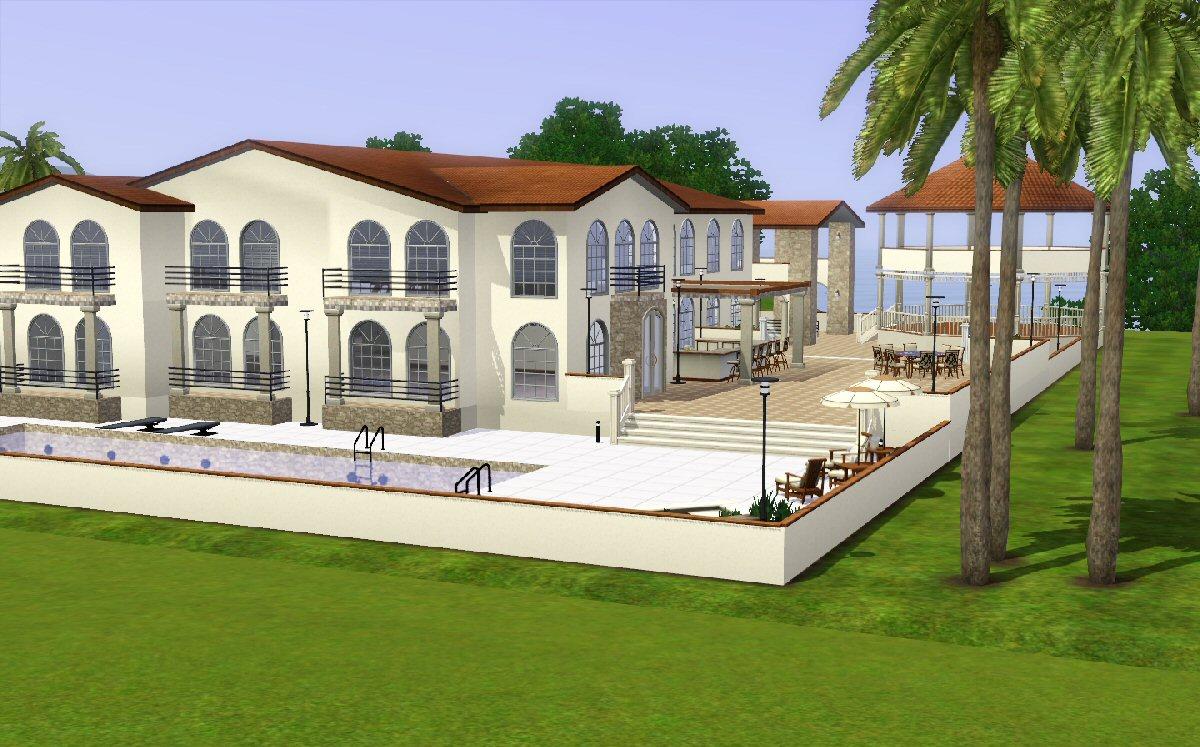 Mod the sims la casa grande - Casa grande de cabrales ...