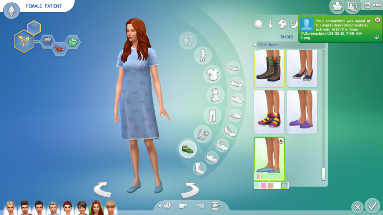 Mod The Sims Get To Work Patient Outfit