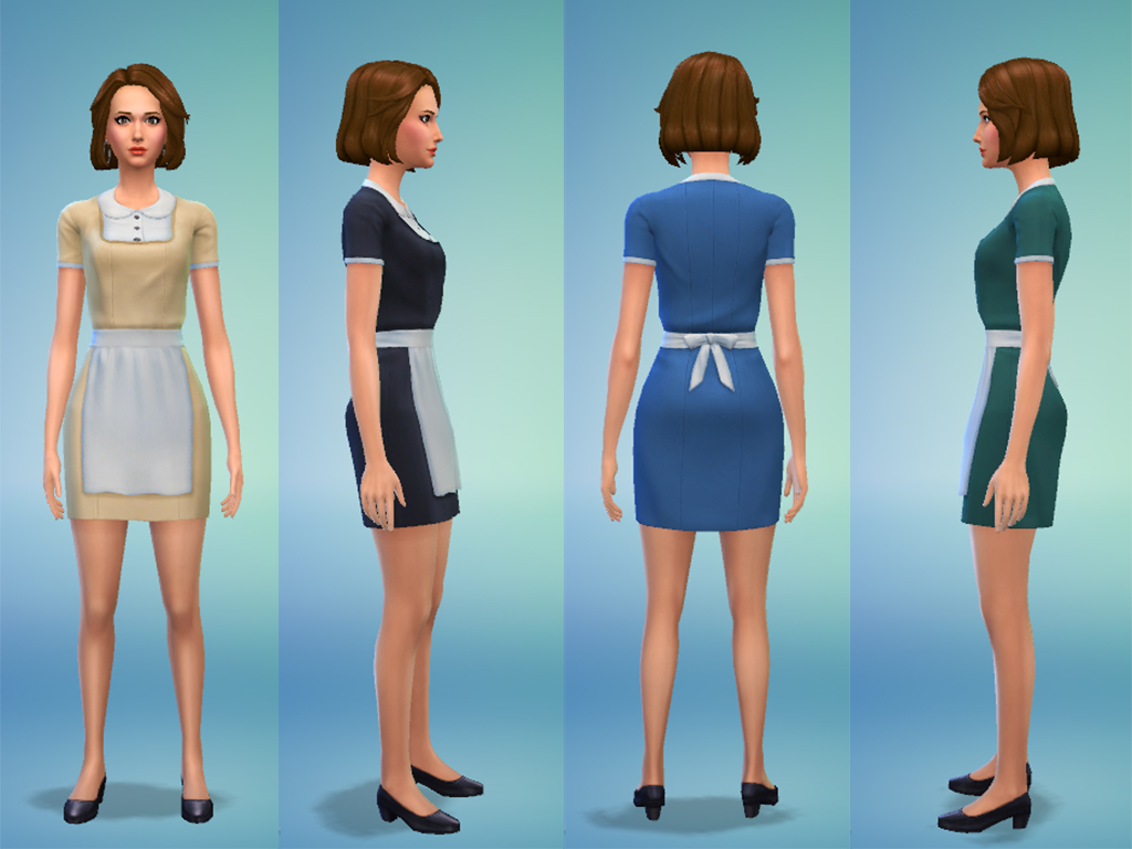 Mod The Sims - Maid Outfit d25b69b67