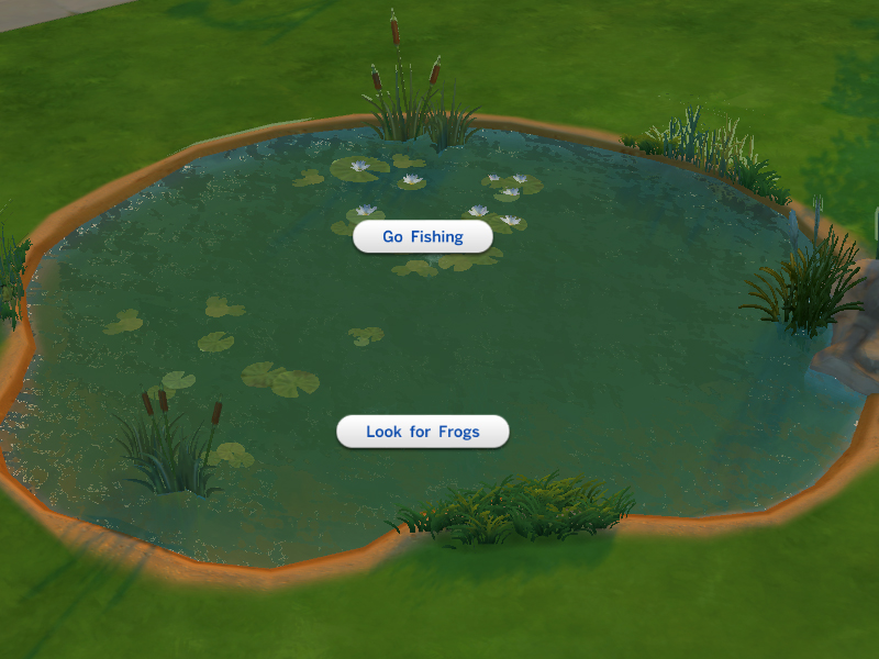 Mod The Sims Buyable Ponds