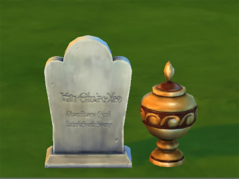 Mod The Sims Buyable Graves Updated