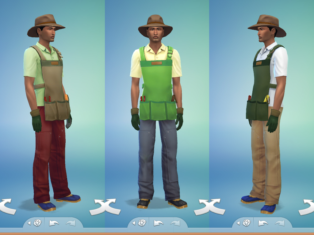 Mod The Sims Gardener Outfit