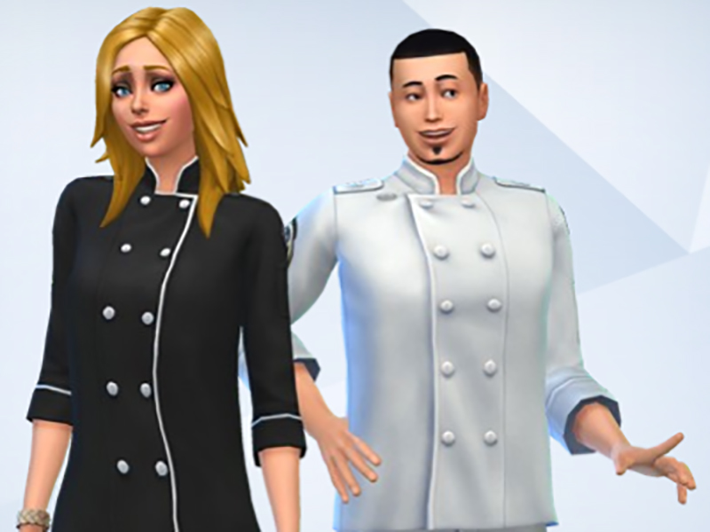 how to become a chef in sims 4