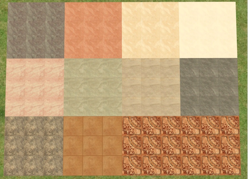 Mod The Sims - Ceramic Tiles from South Africa