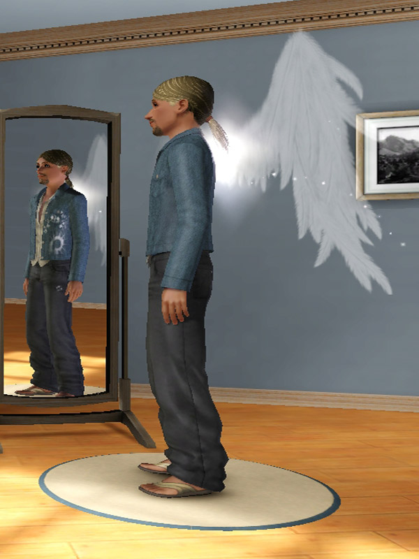 Mod The Sims Default Replacement Angel Wings
