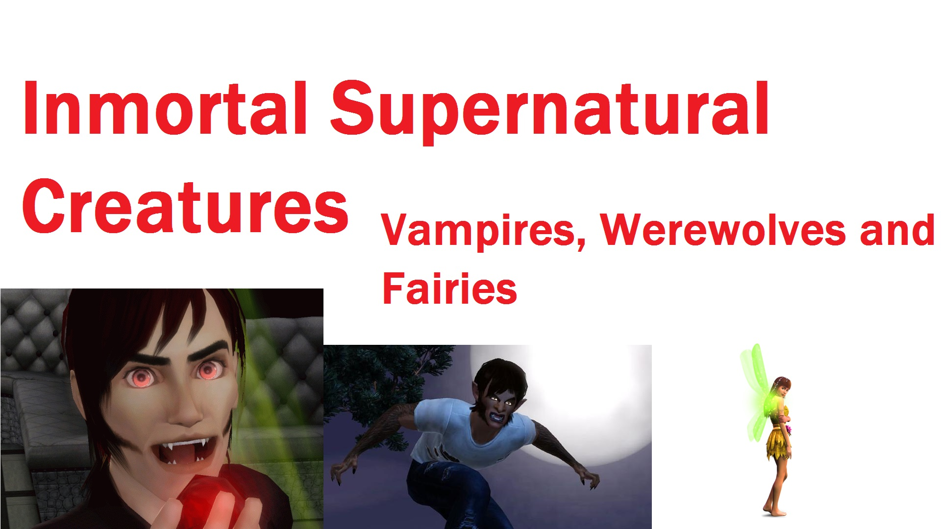 which créature are you vampire