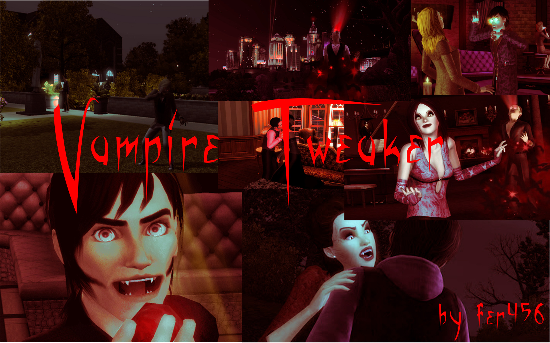 mod the sims - vampire tweaker v5.1