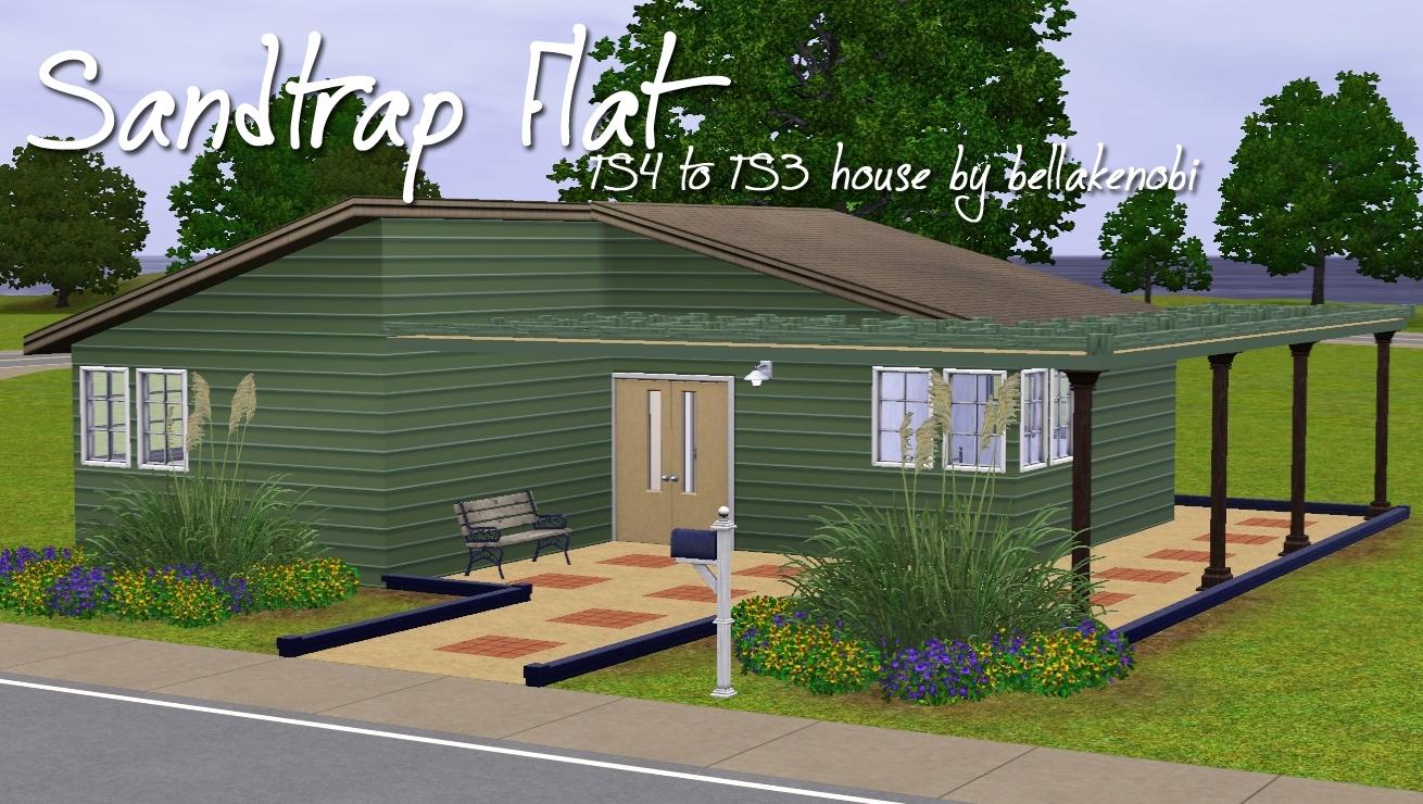 Mod The Sims - TS4 to TS3 - Sandtrap Flat - Basegame Starter