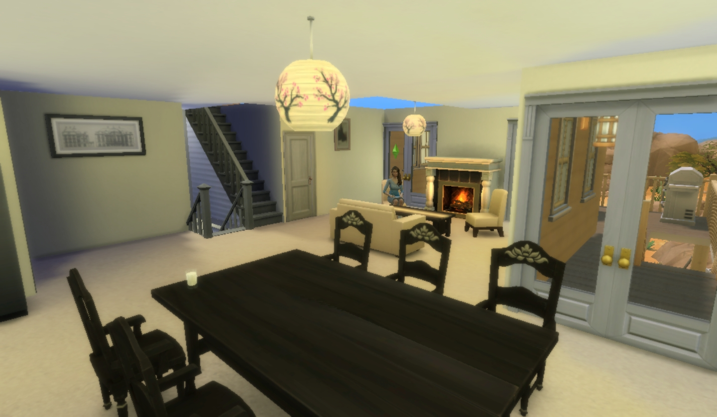 Mod the sims cliff edge manor 5 bed 3 5 bath 20x15 for Living room of satoshi tax