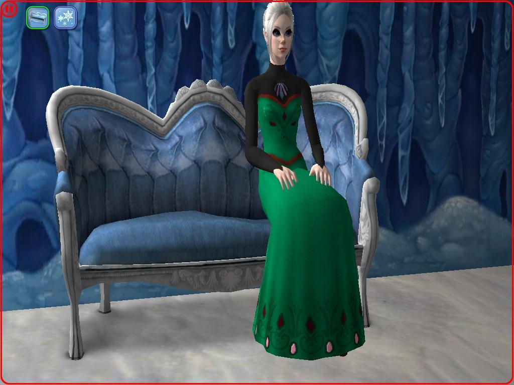 The dress from frozen - Advertisement