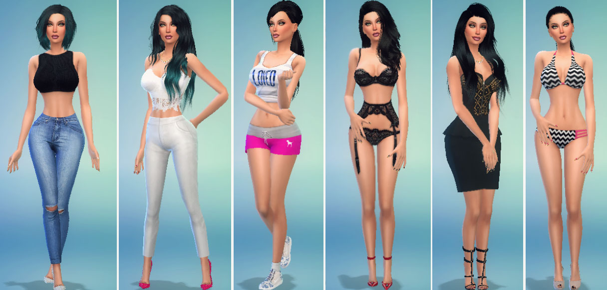 mod the sims haylee hale