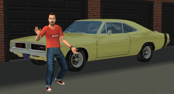 Mod The Sims - 1969 Dodge Charger R/T recolors (Mesh link update