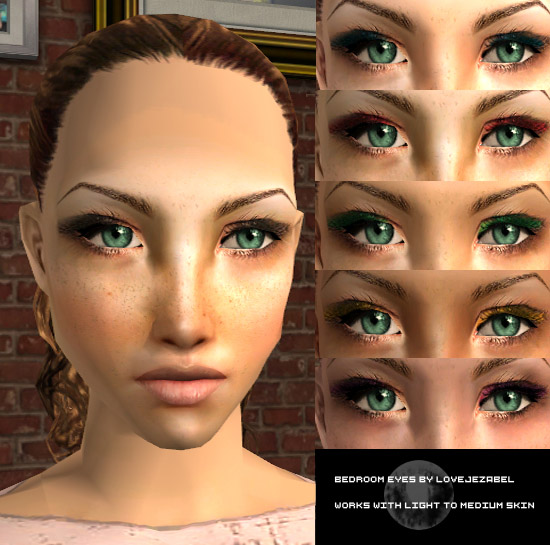 Mod the sims bedroom eyes eyeshadow for Bedroom eyes makeup