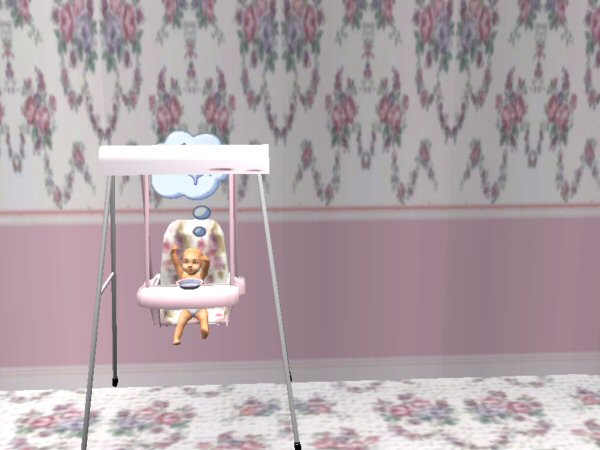Mod The Sims Updated Baby Swing New Mesh By Request