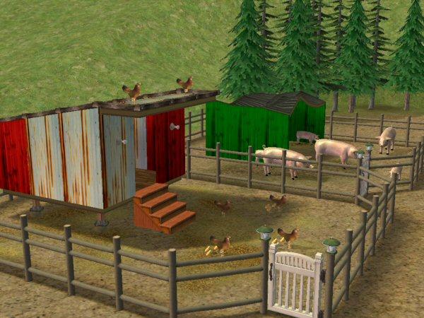 Mod the sims christmas tree farm (part 1).