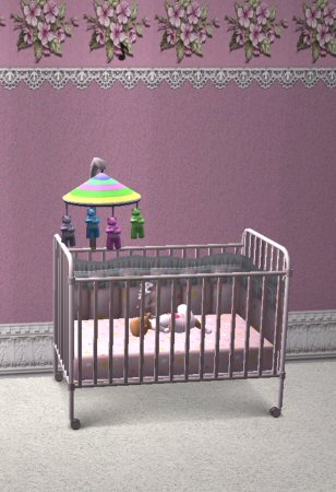 Mod The Sims Crib Mobile Custom Animations Amp Custom Sounds
