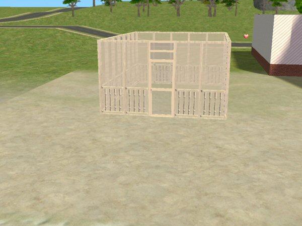 Mod the sims new screen walls screen door for New screen door
