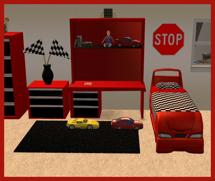 Mod The Sims Updated Jan 10 2009 Toolbox Bedroom Set