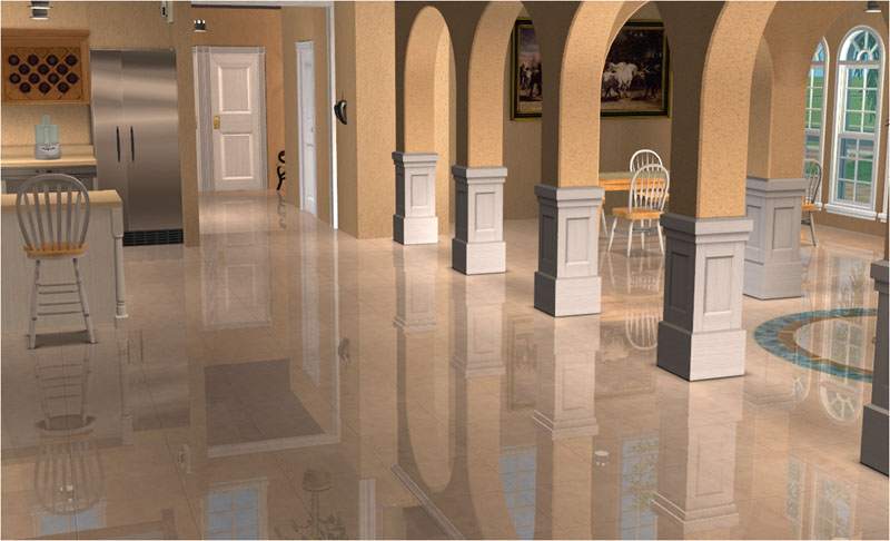 Sims  Flooring For Kitchens