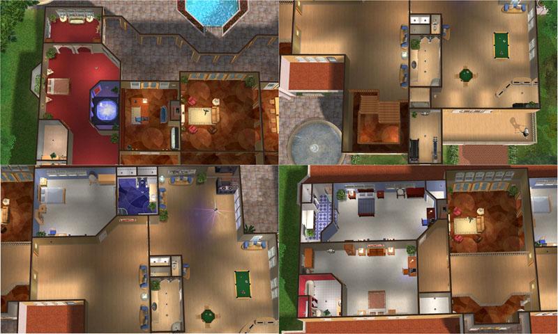 Mod The Sims Arriosa Luxury Mediterranean Villa 5 BR 7 BA