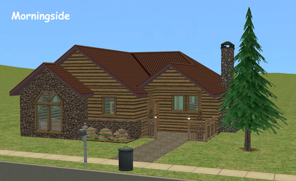 Mod The Sims Morningside Rustic Log Cabin Starter 2 Br