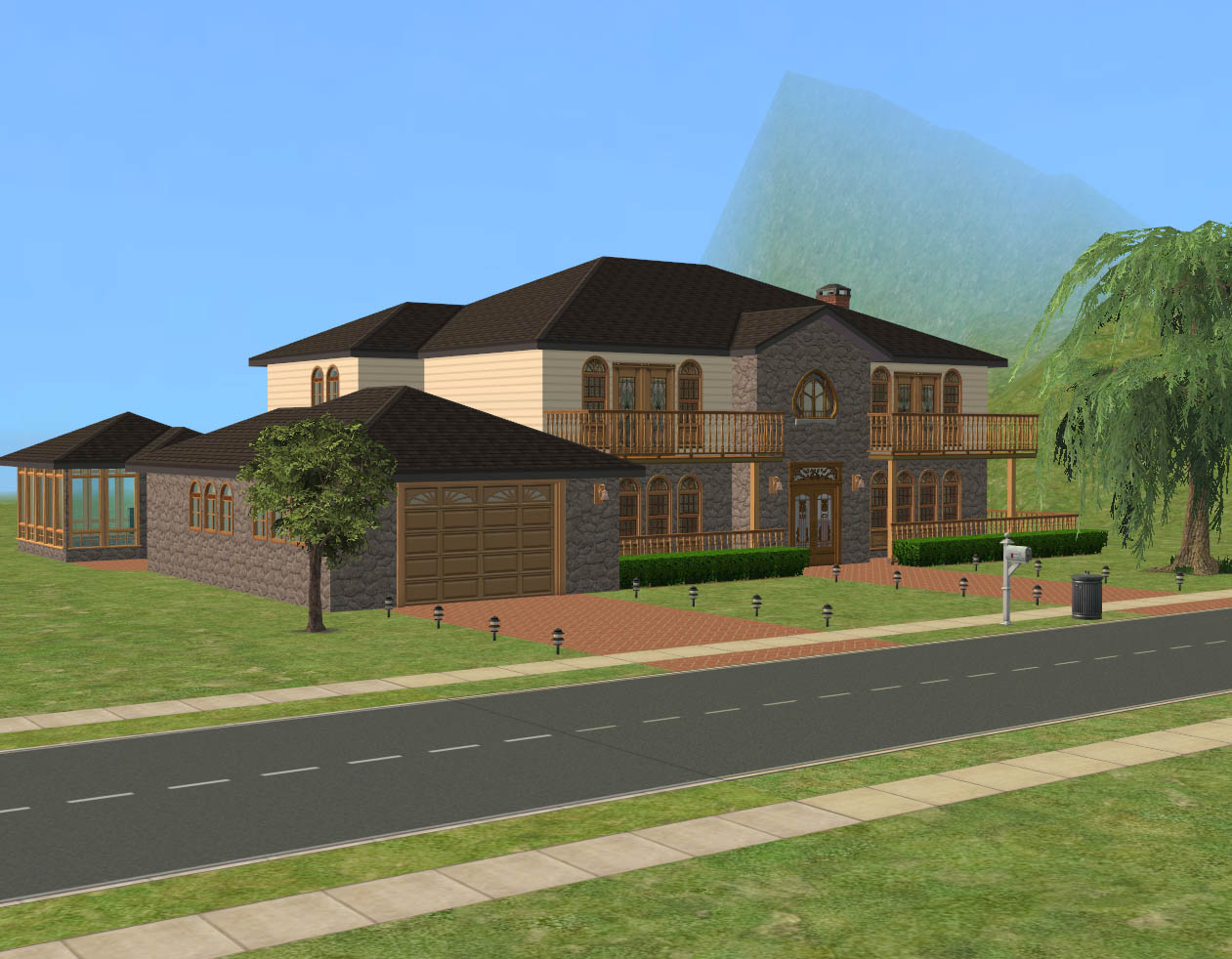 Mod the sims rosewood trail luxury 2 br 2 5 ba home for Rosewood home