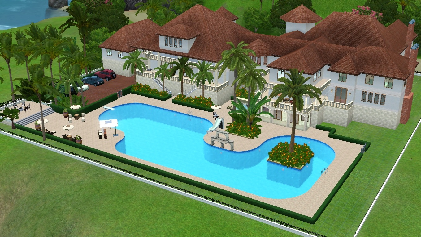 Gorgeous Sims 3 Mansion Download The Mediterranean ...