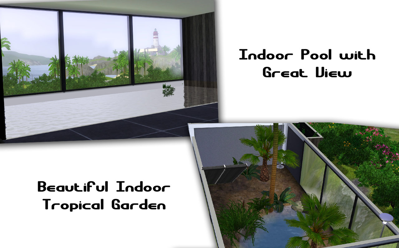 Mod the sims cliffside tropicana 20th upload by for Sims 3 pool design