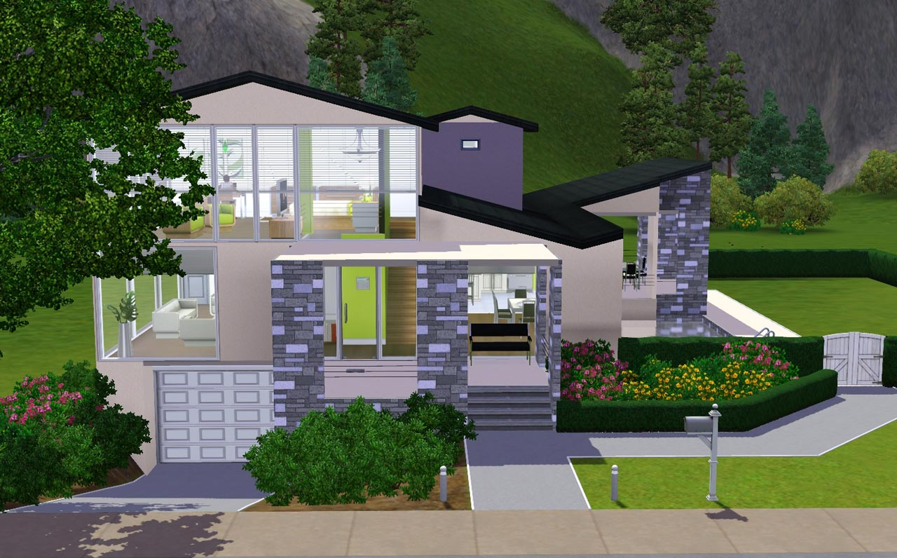 house with basement garage. Advertisement  Mod The Sims Underground Garage 6 Stone and Stucco Blvd