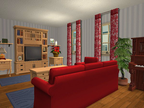 Mod the sims cape cod style family home fully furnished for Cape cod chat rooms