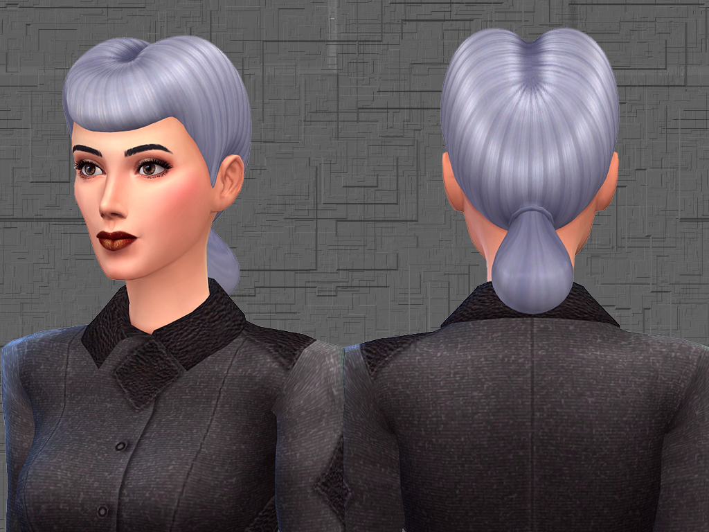 Advertisement. Mod The Sims   Rachael Hair 18 EA like Colors