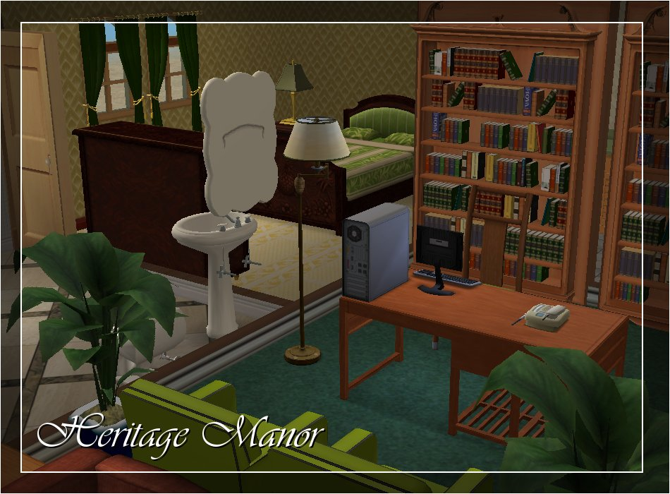 Mod the sims heritage manor luxury elder care home no cc for Heritage manor