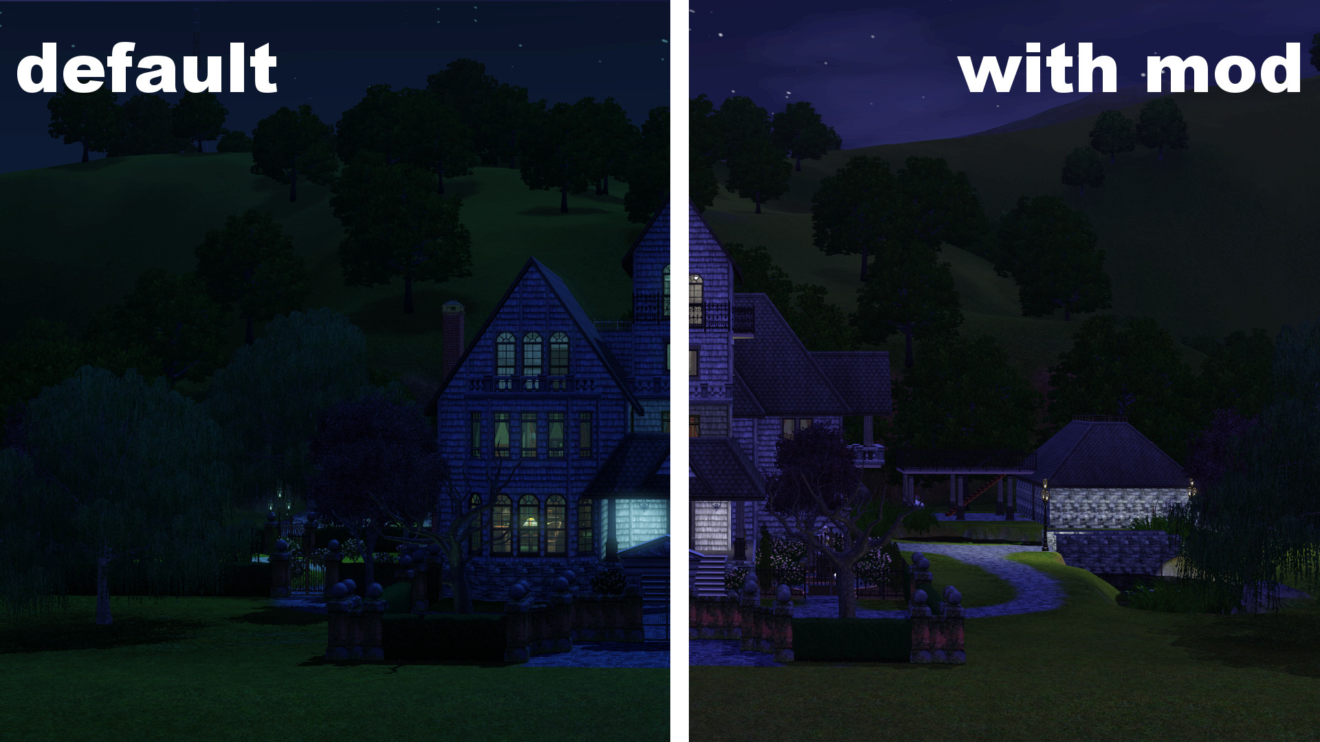 Mod The Sims No Full Moon Lighting Effect