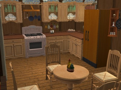 Mod The Sims Grandma S House Little Red Riding Hood