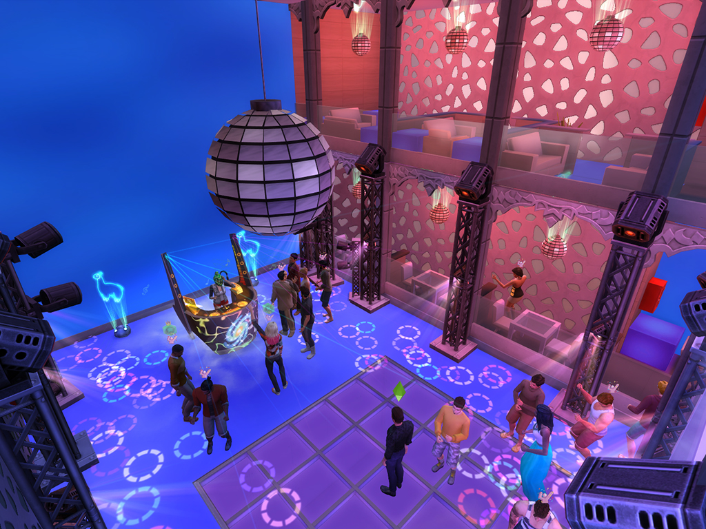 Mod The Sims Discotheque Mirrorball Animated