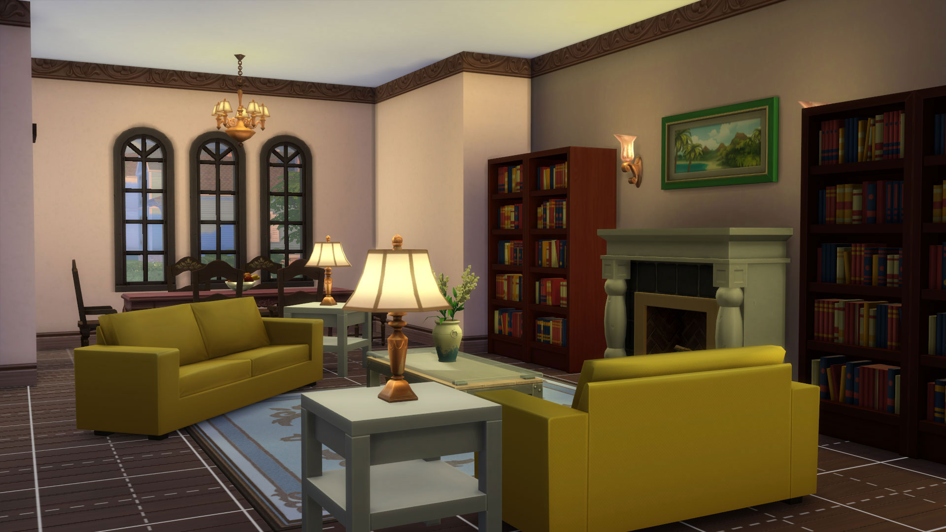 Mod The Sims 4 Windsor Grove Bedroom Family Home