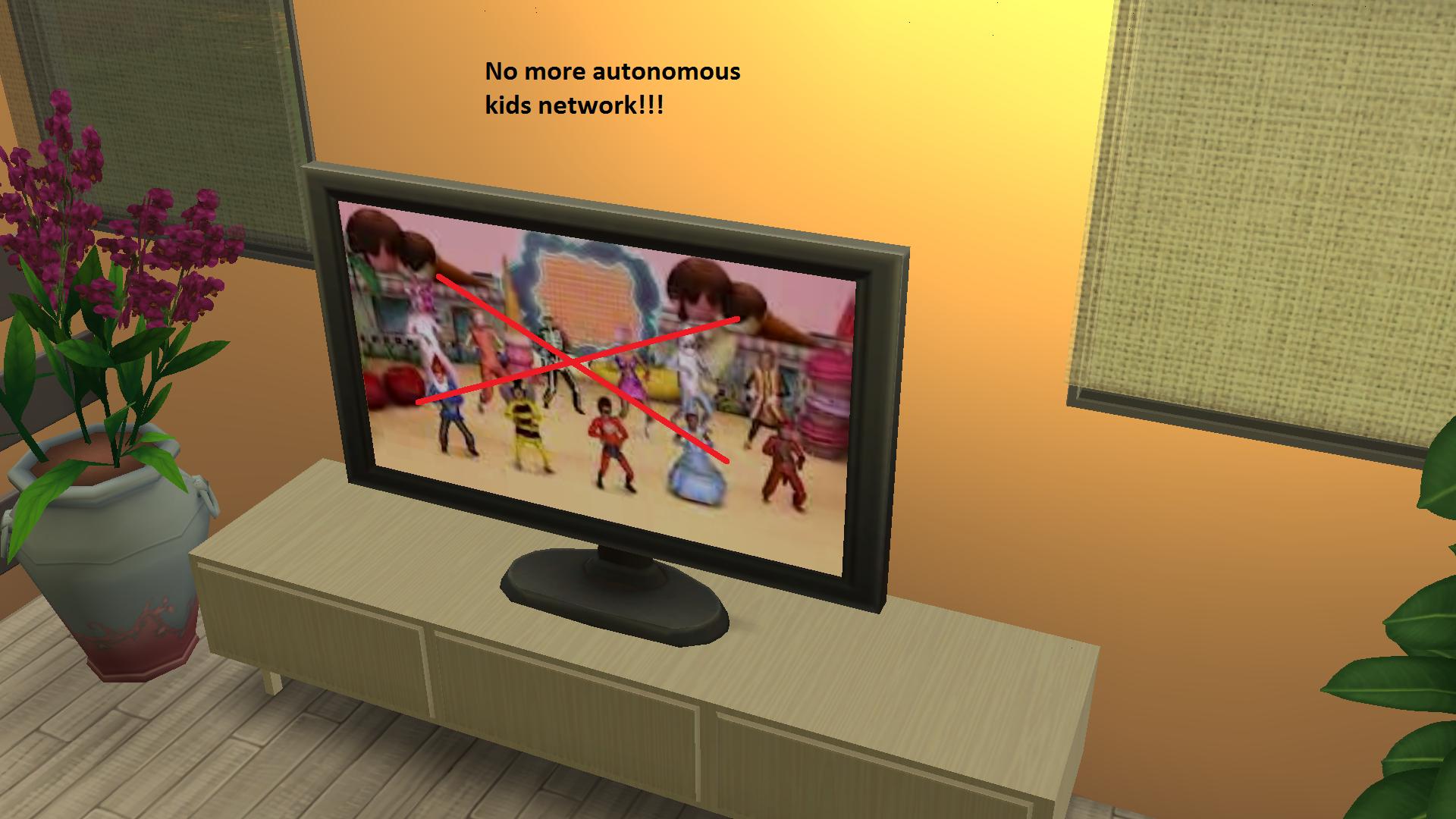Мод на отсутствие детских каналов