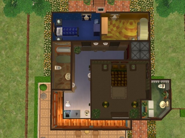 Mod the sims 3 story townhouse w elevator for 1 story elevator