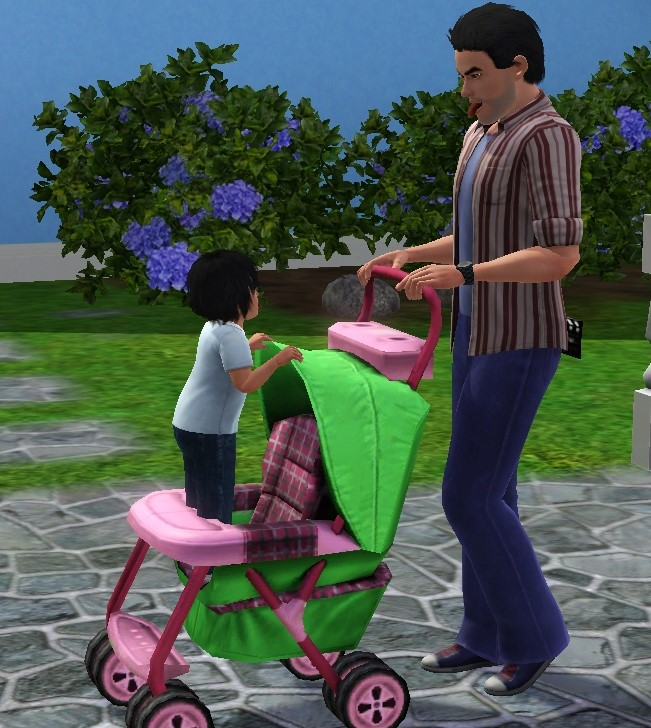 Mod The Sims Toddler Stroller Poses