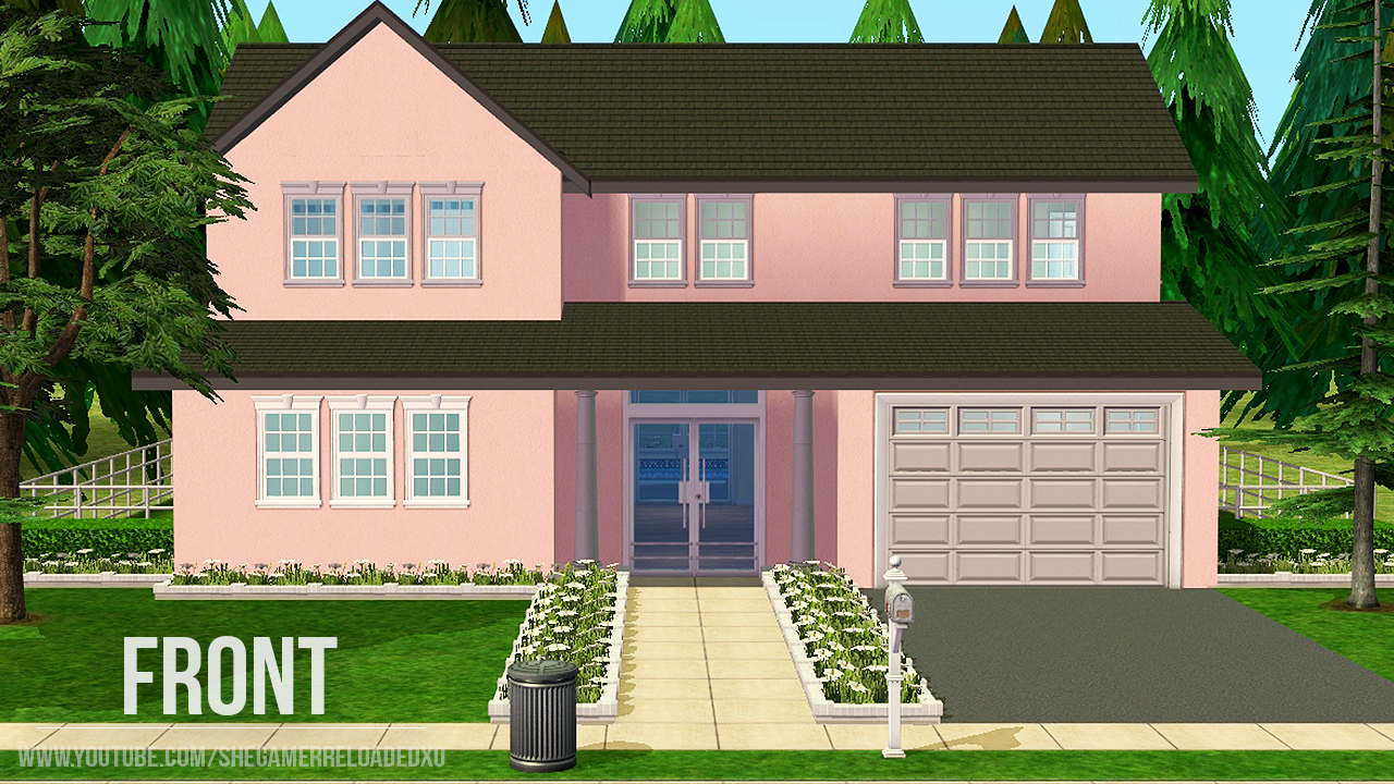 Mod the sims thulian no cc for Minimalist house sims 2