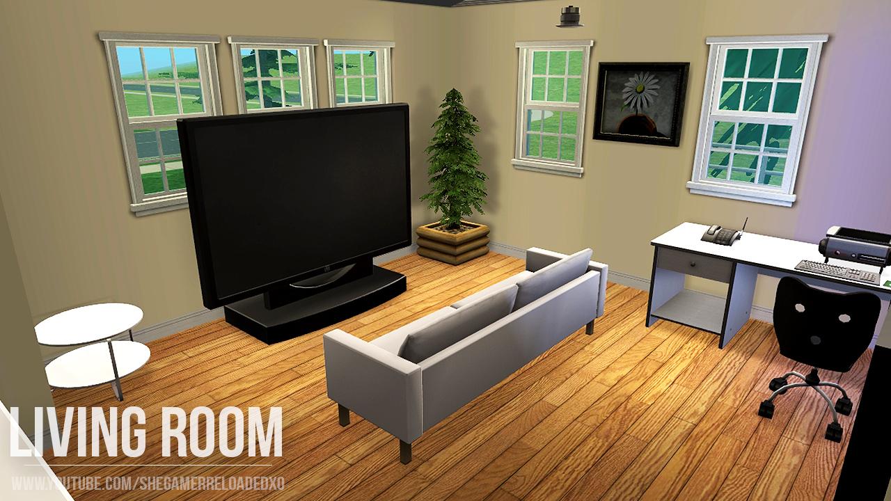Sims  Living Room Reloaded