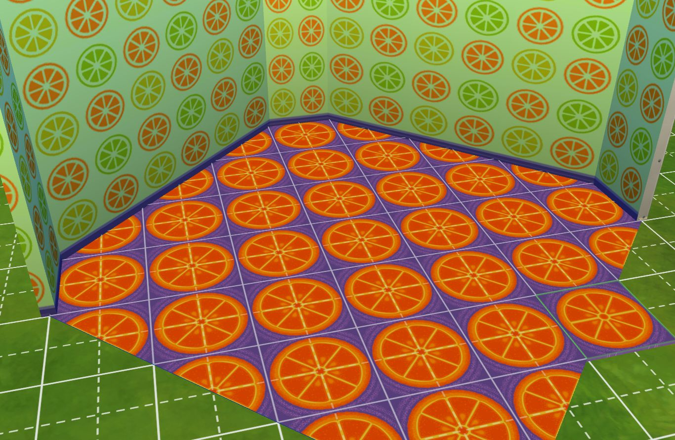 Mod The Sims Animal Crossing Wallpaper And Carpet Conversions For Your