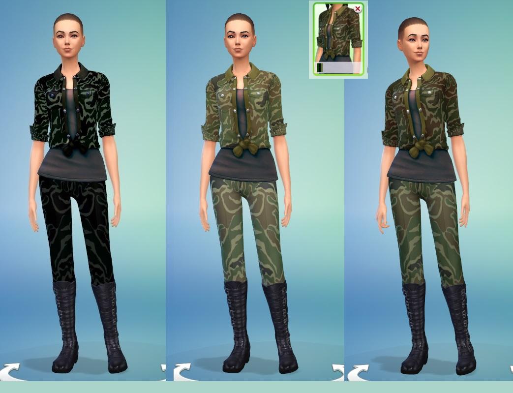 Sims 4 military jacket – Moderne schöne Jacken