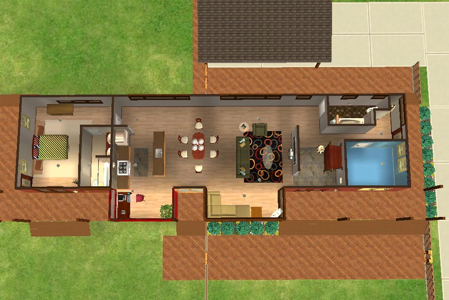 Mod The Sims Plat House