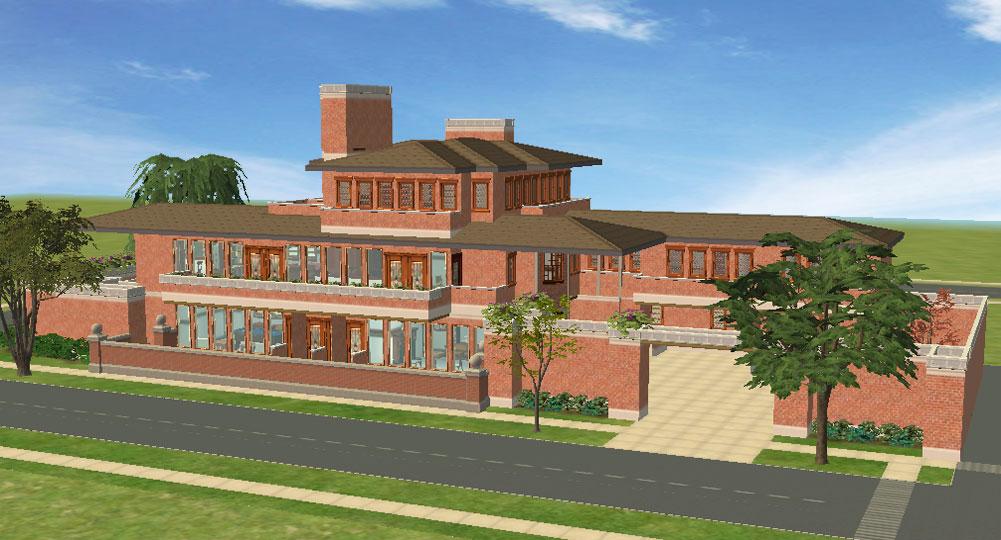 Mod The Sims Frank Lloyd Wright 39 S Robie House
