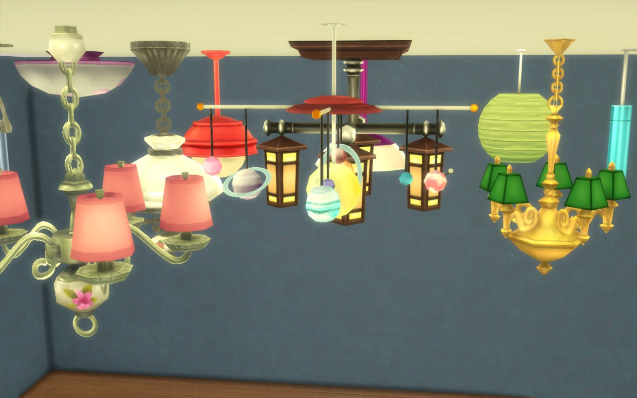 Mod the sims no fade ceiling lights update for gtw x aloadofball Image collections