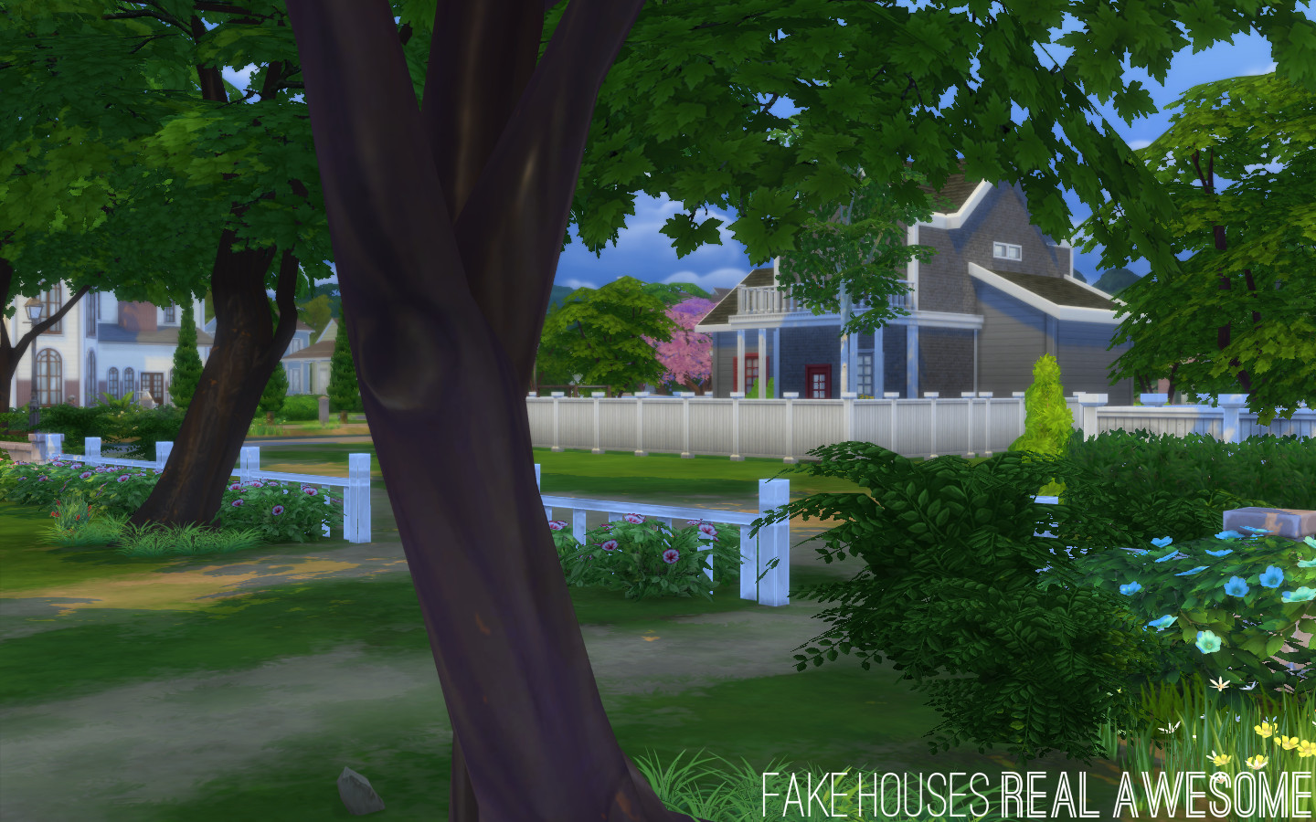 Mod the sims no fade trees and streetlamps for Awesome sims