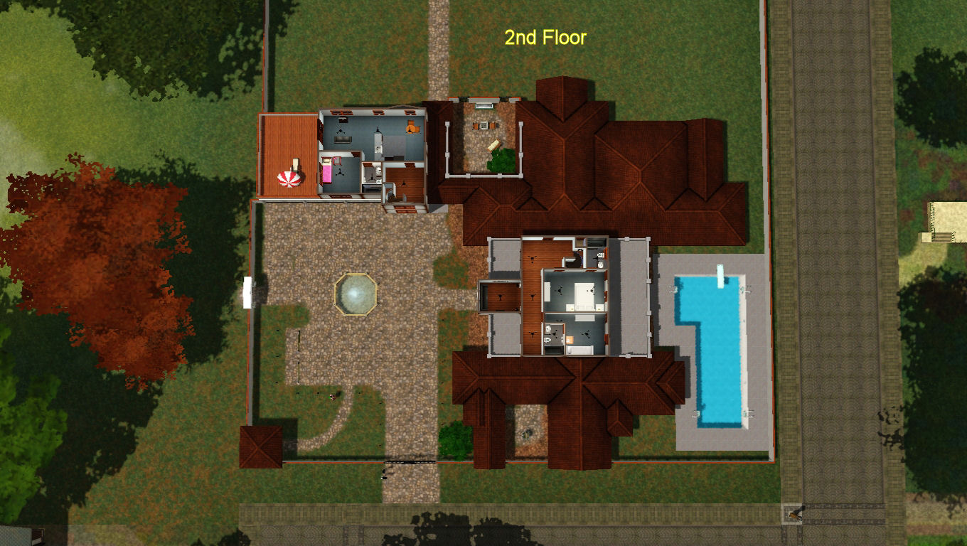 mod the sims spanish style luxury home