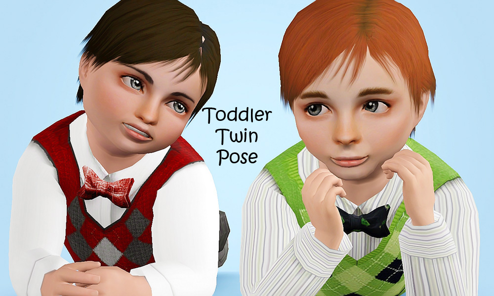 Mod The Sims - Family Pose Pack