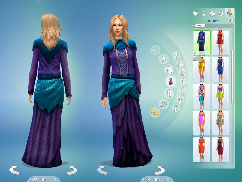 Mod The Sims - Witch & Wizard Costumes for teen/adult/elder